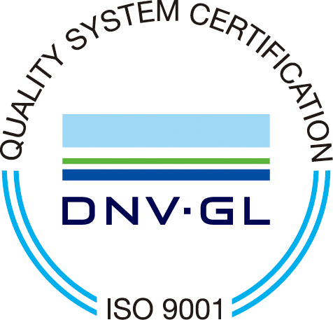 QUALITY SYSTEM CERTIFICATION DNV・GL ISO 9001